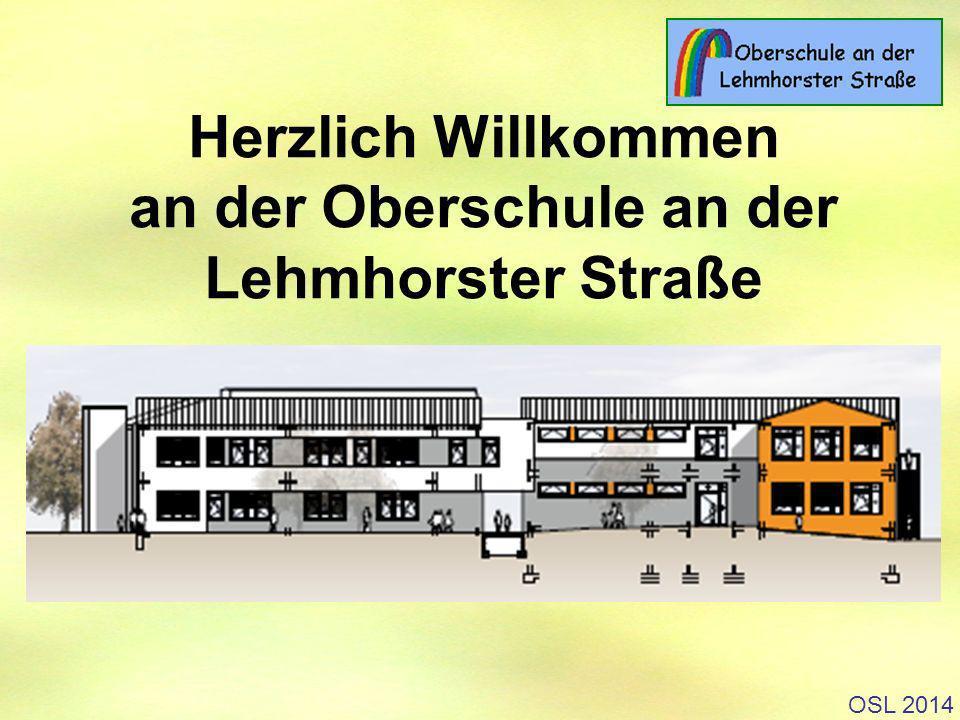 Herzlich Willkommen an der Oberschule an der Lehmhorster Straße