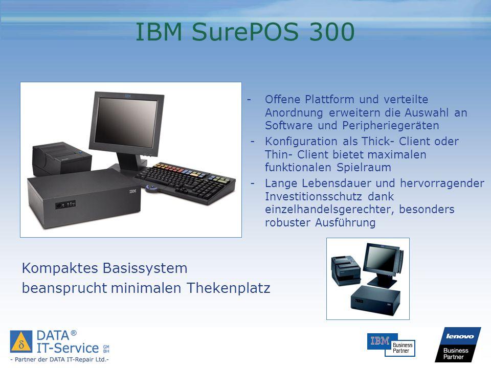 IBM SurePOS 300 Kompaktes Basissystem