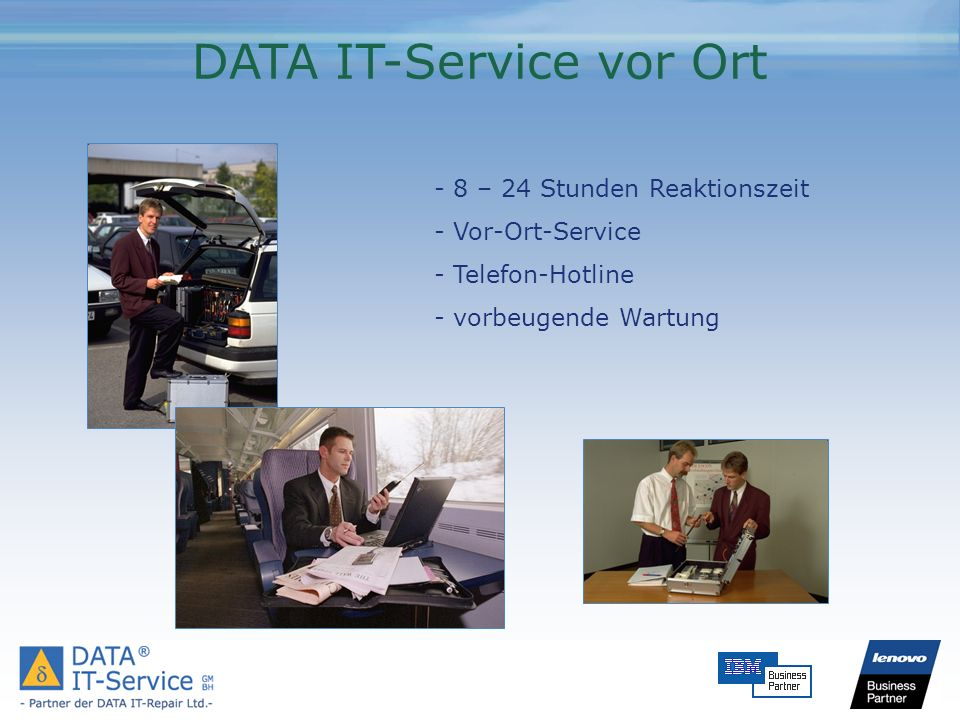 DATA IT-Service vor Ort