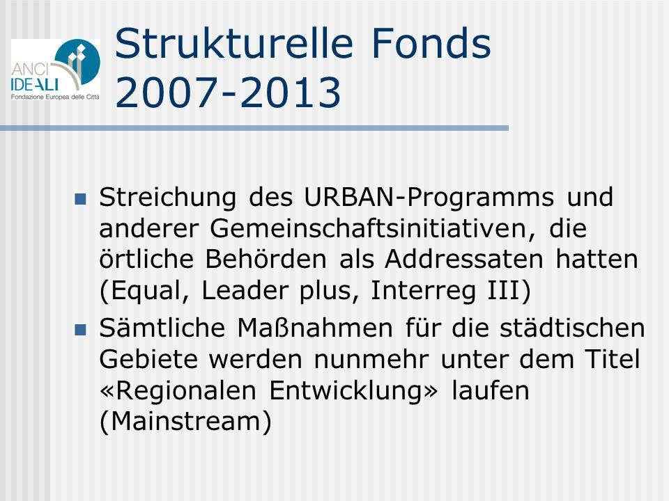 Strukturelle Fonds 2007-2013