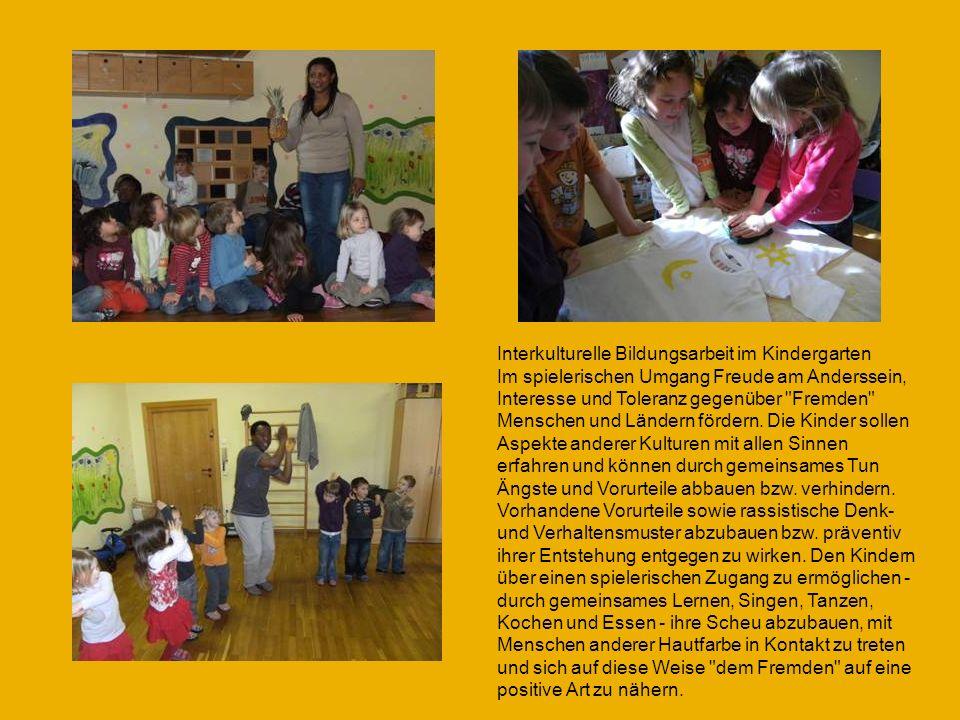 Interkulturelle Bildungsarbeit im Kindergarten
