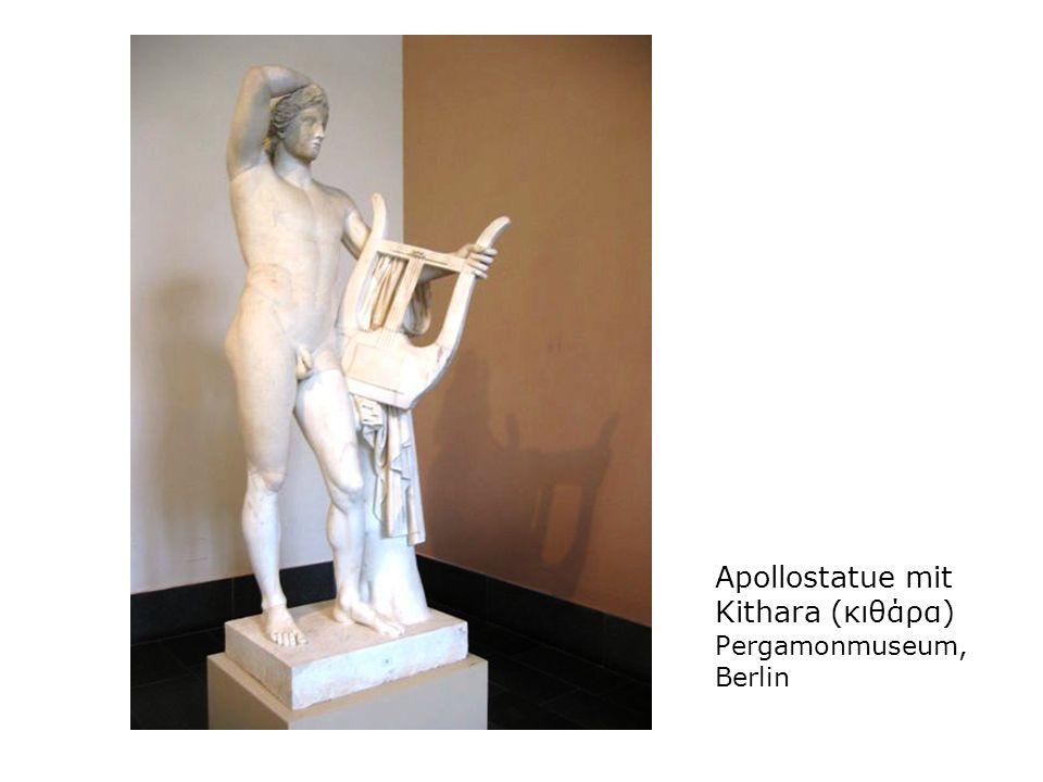 Apollostatue mit Kithara (κιθάρα) Pergamonmuseum, Berlin