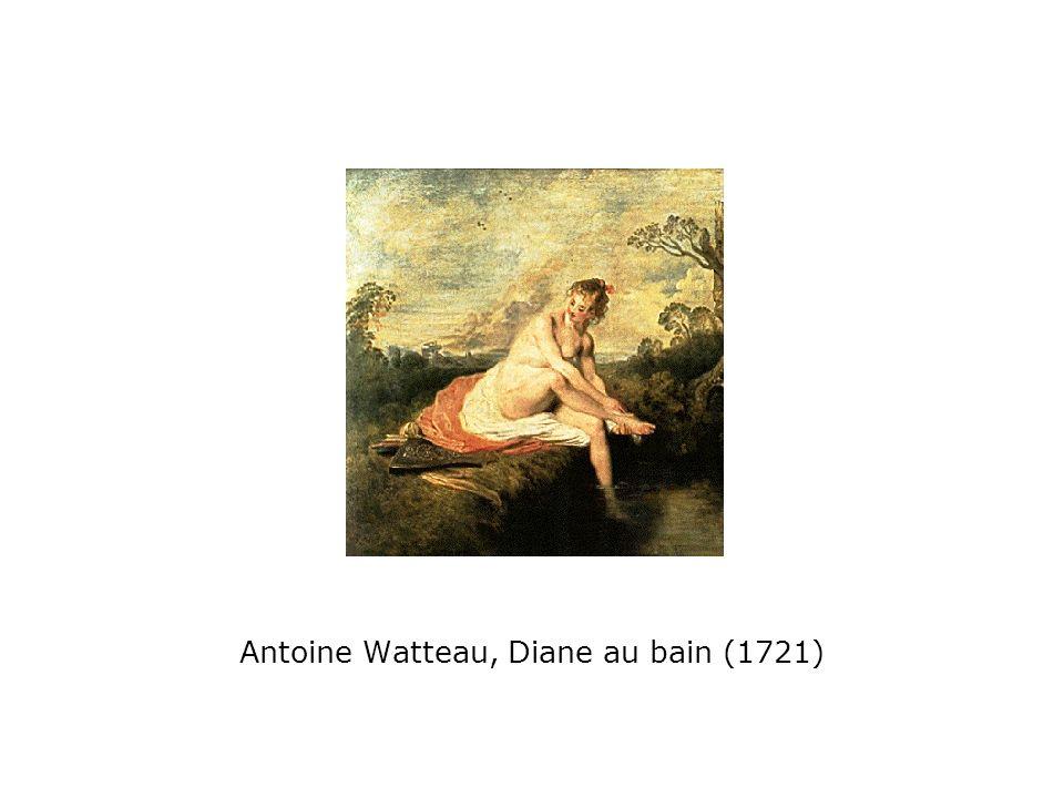 Antoine Watteau, Diane au bain (1721)