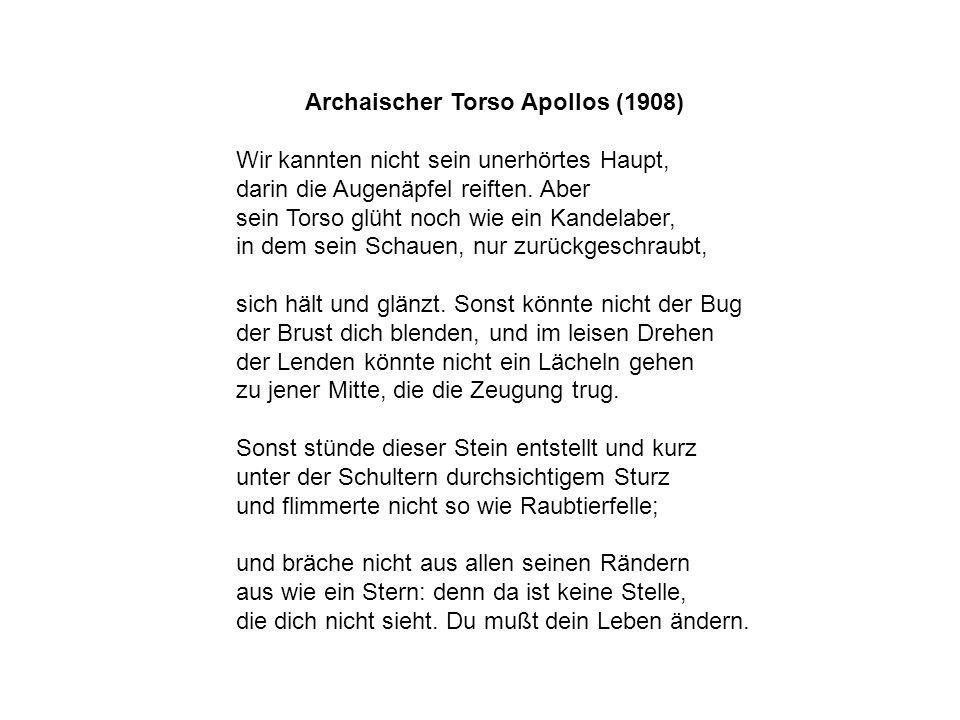 Archaischer Torso Apollos (1908)