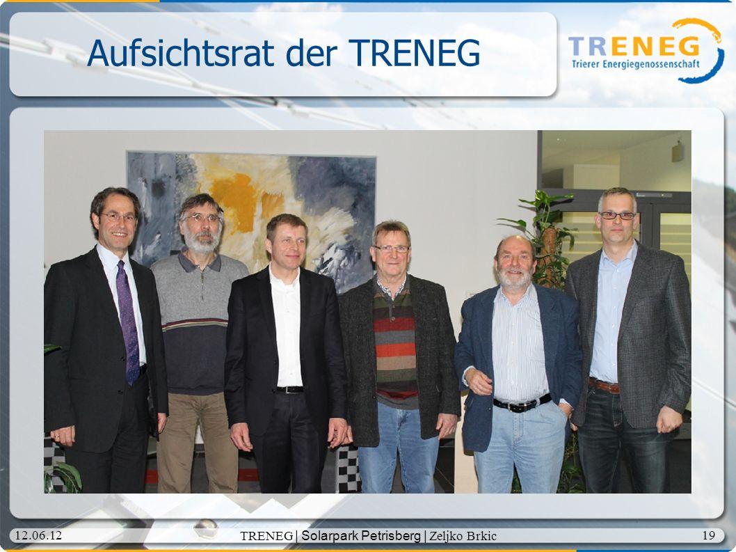 Aufsichtsrat der TRENEG