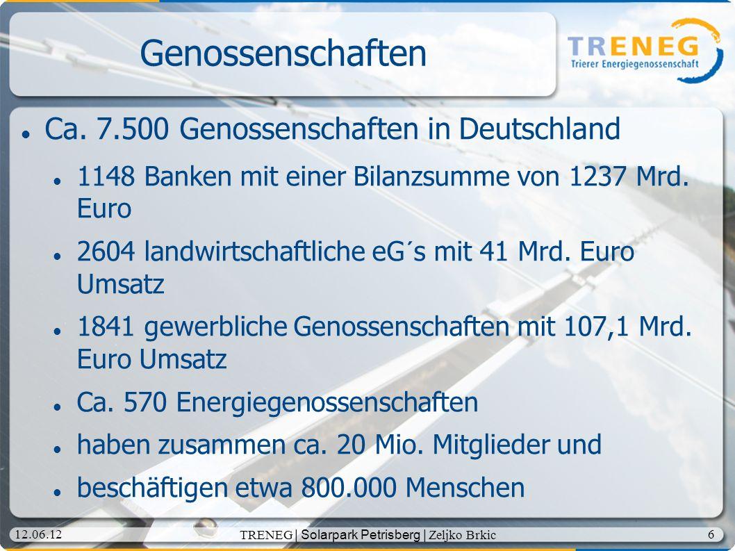 TRENEG | Solarpark Petrisberg | Zeljko Brkic