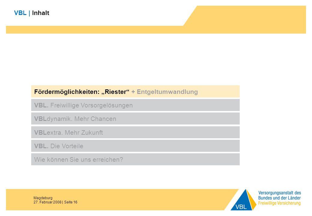 """Fördermöglichkeiten: """"Riester + Entgeltumwandlung"""