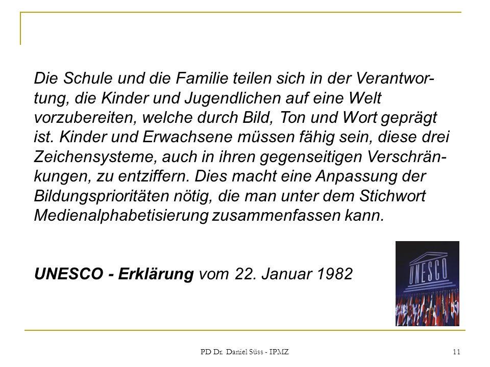 UNESCO - Erklärung vom 22. Januar 1982