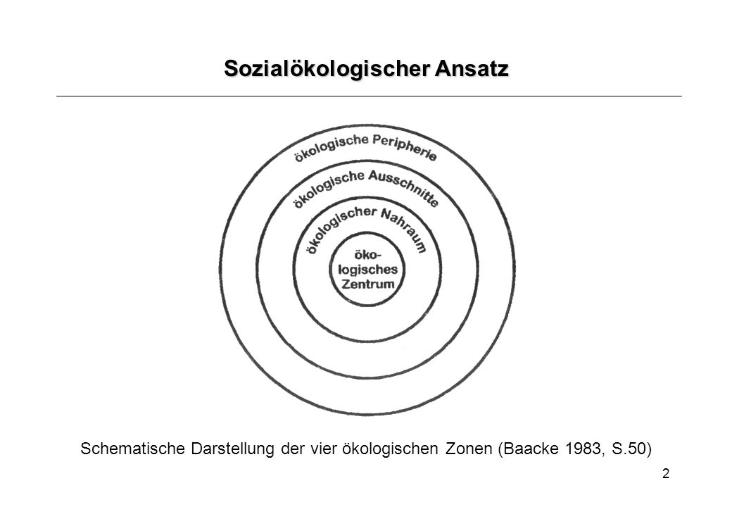 Sozialökologischer Ansatz