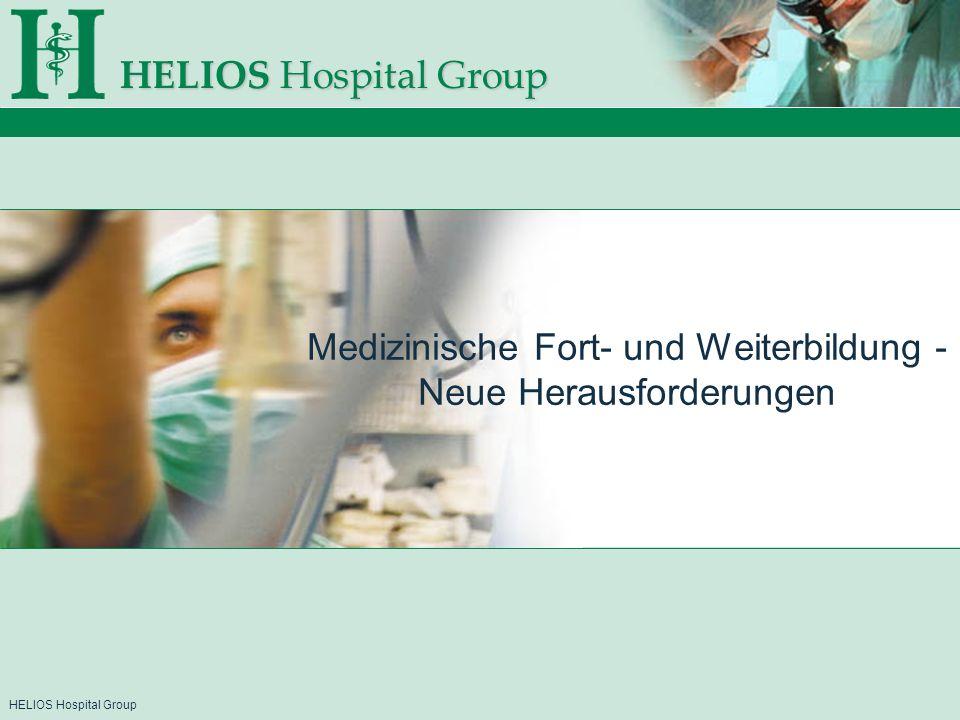 Medizinische Fort- und Weiterbildung - Neue Herausforderungen
