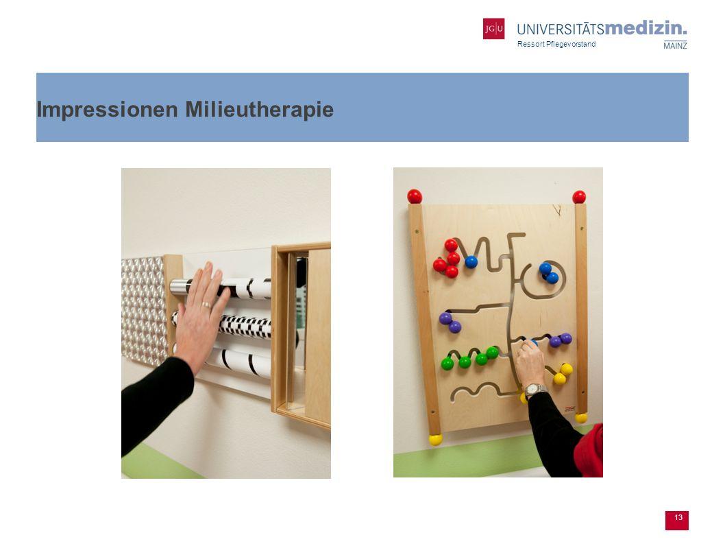 Impressionen Milieutherapie