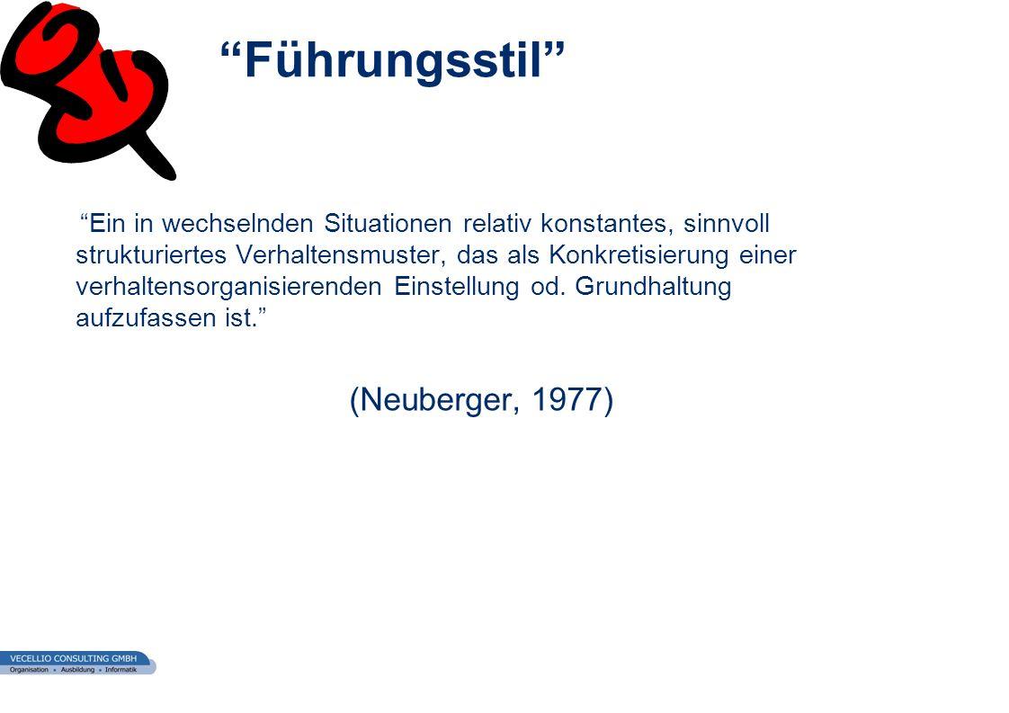 Führungsstil (Neuberger, 1977)