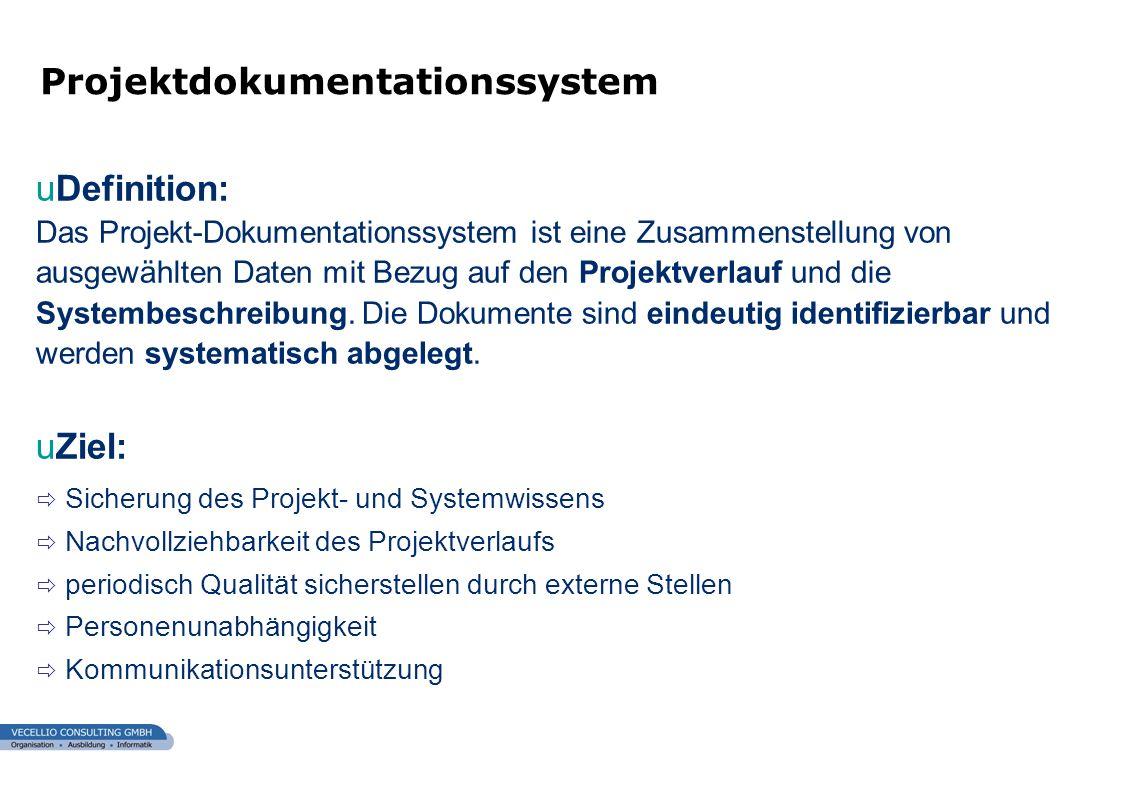 Projektdokumentationssystem