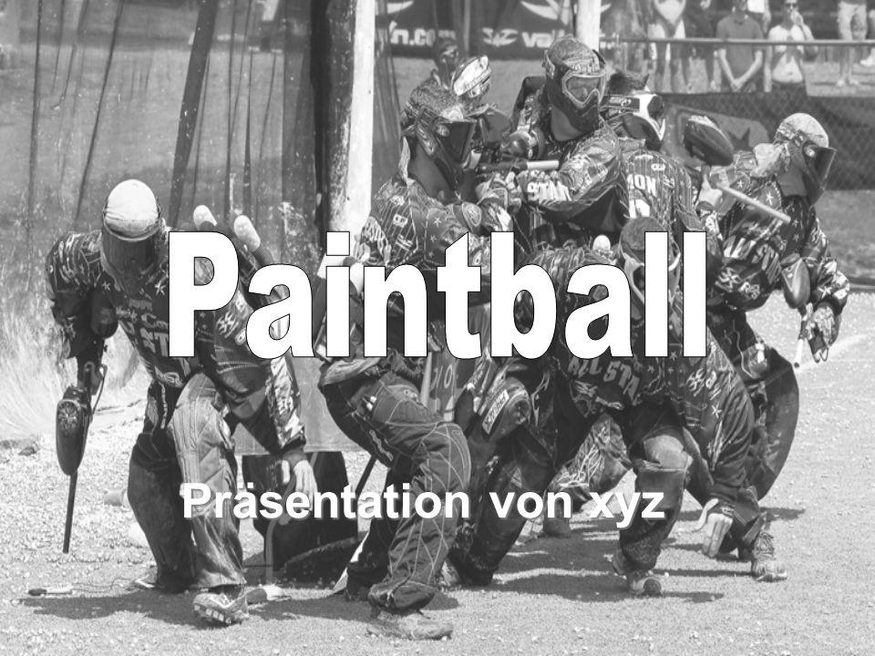 Paintball Präsentation von xyz
