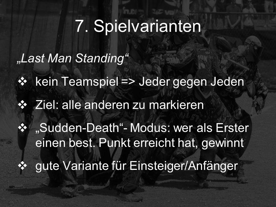 "7. Spielvarianten ""Last Man Standing"