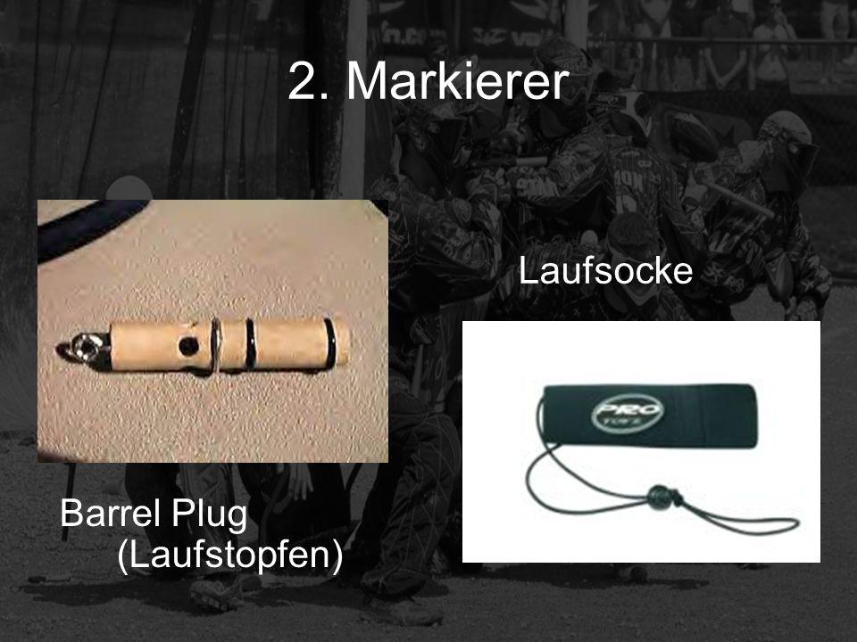 2. Markierer Laufsocke Barrel Plug (Laufstopfen)