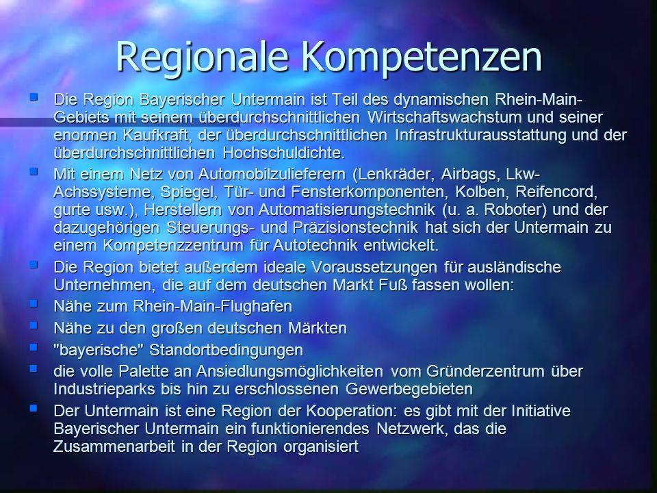 Regionale Kompetenzen