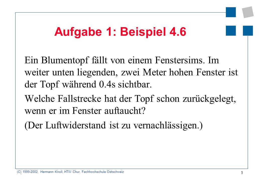 Aufgabe 1: Beispiel 4.6