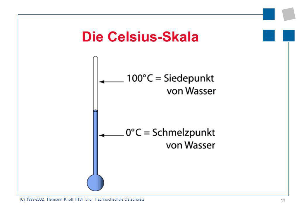 Die Celsius-Skala