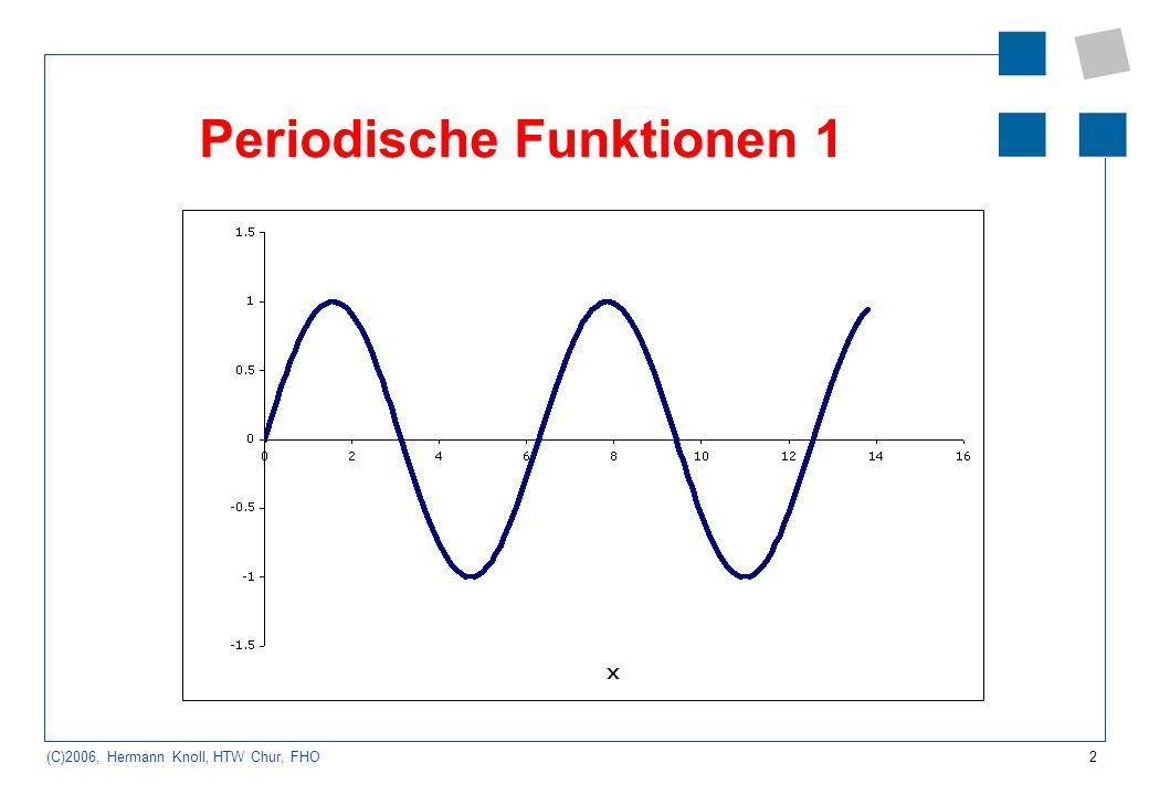 Periodische Funktionen 1