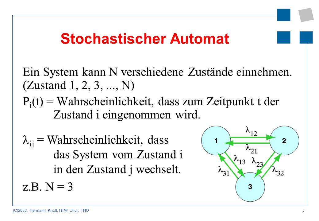 Stochastischer Automat