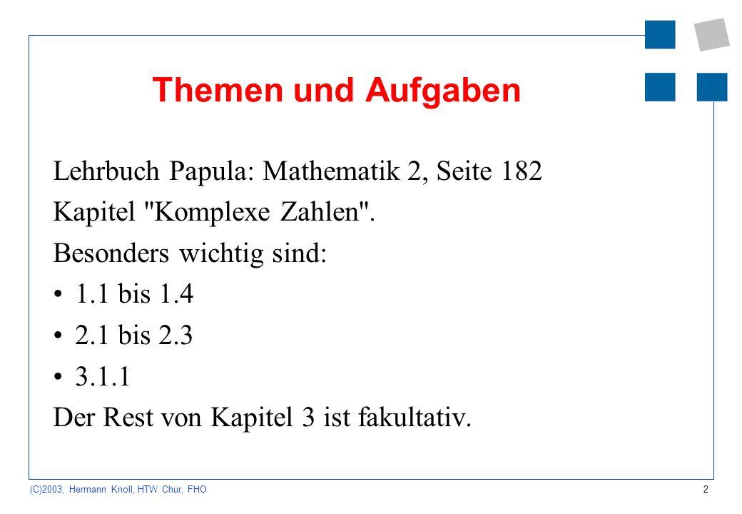 Themen und Aufgaben Lehrbuch Papula: Mathematik 2, Seite 182
