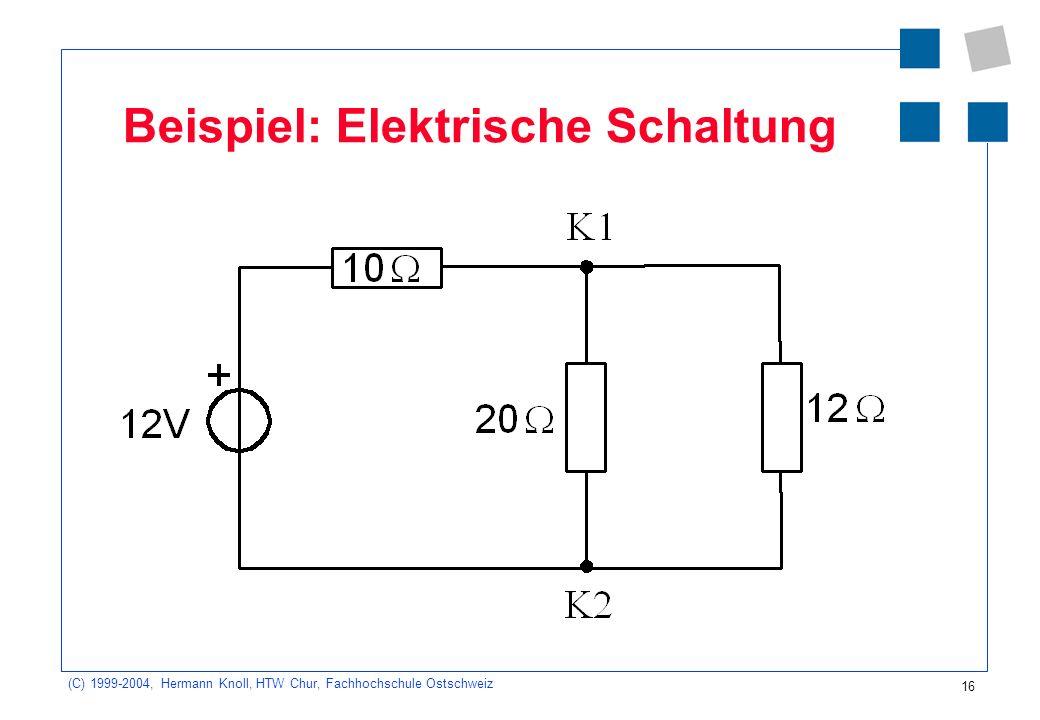 Fantastisch Beispiele Für Elektrische Schaltungen Ideen ...