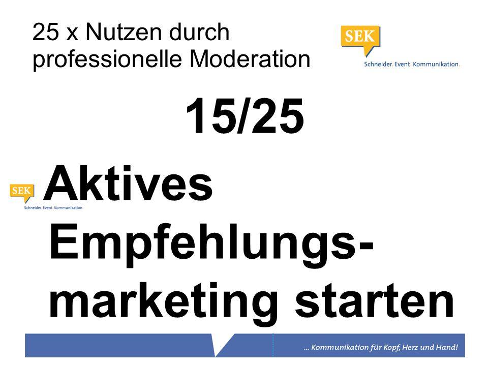 Aktives Empfehlungs- marketing starten