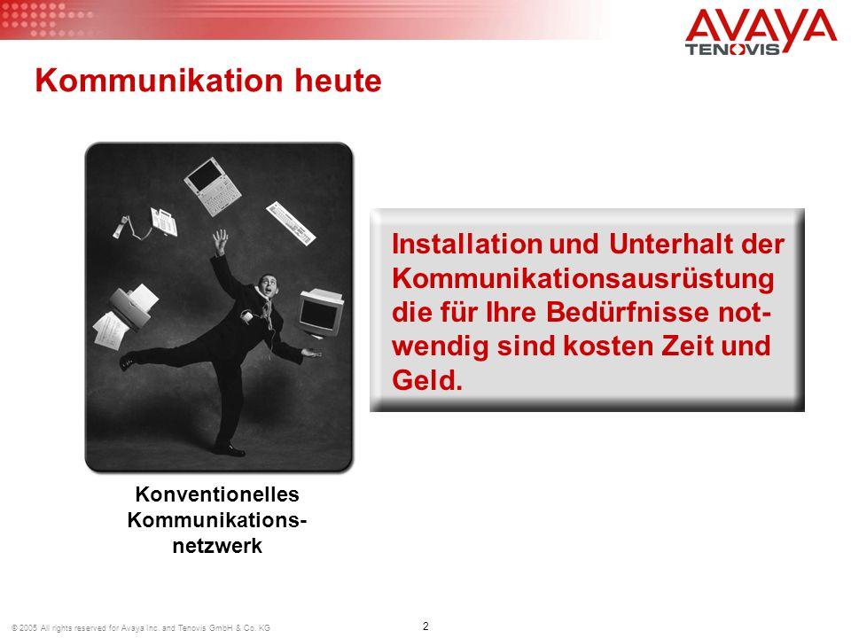 Konventionelles Kommunikations-netzwerk
