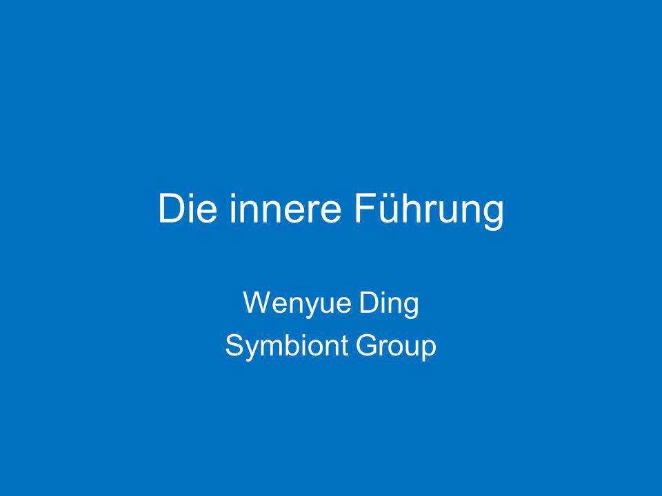Wenyue Ding Symbiont Group