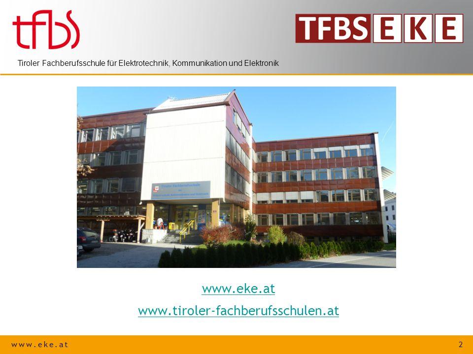 www.eke.at www.tiroler-fachberufsschulen.at