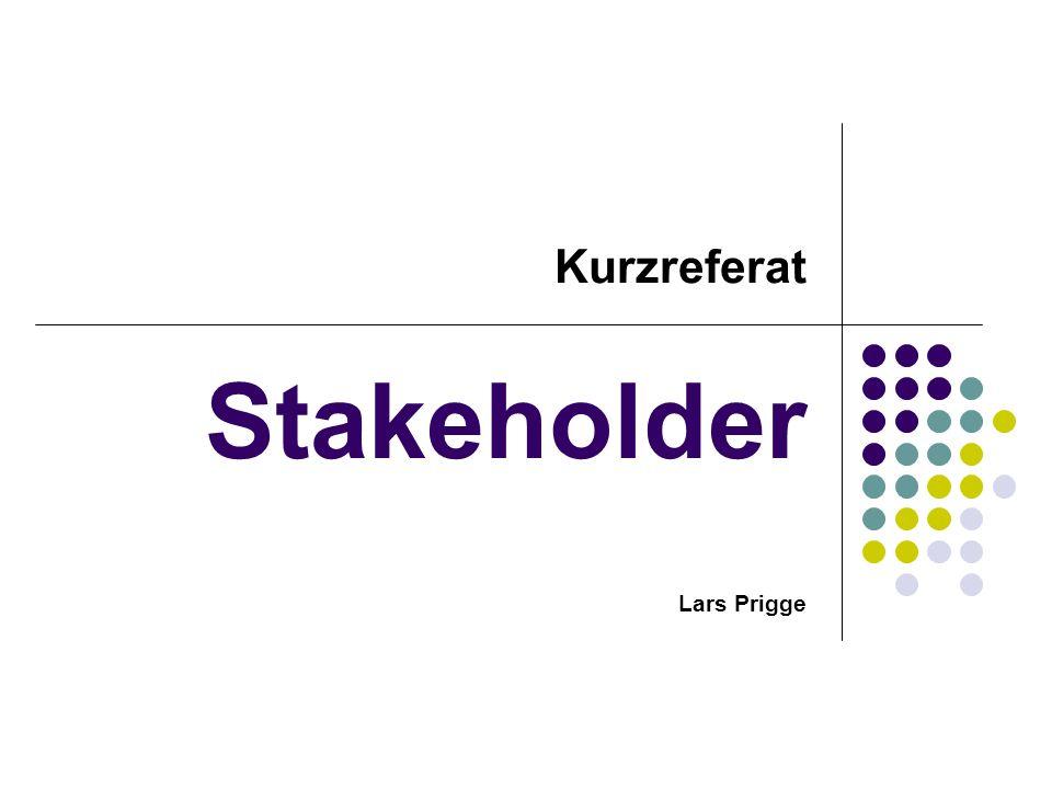 Stakeholder Lars Prigge