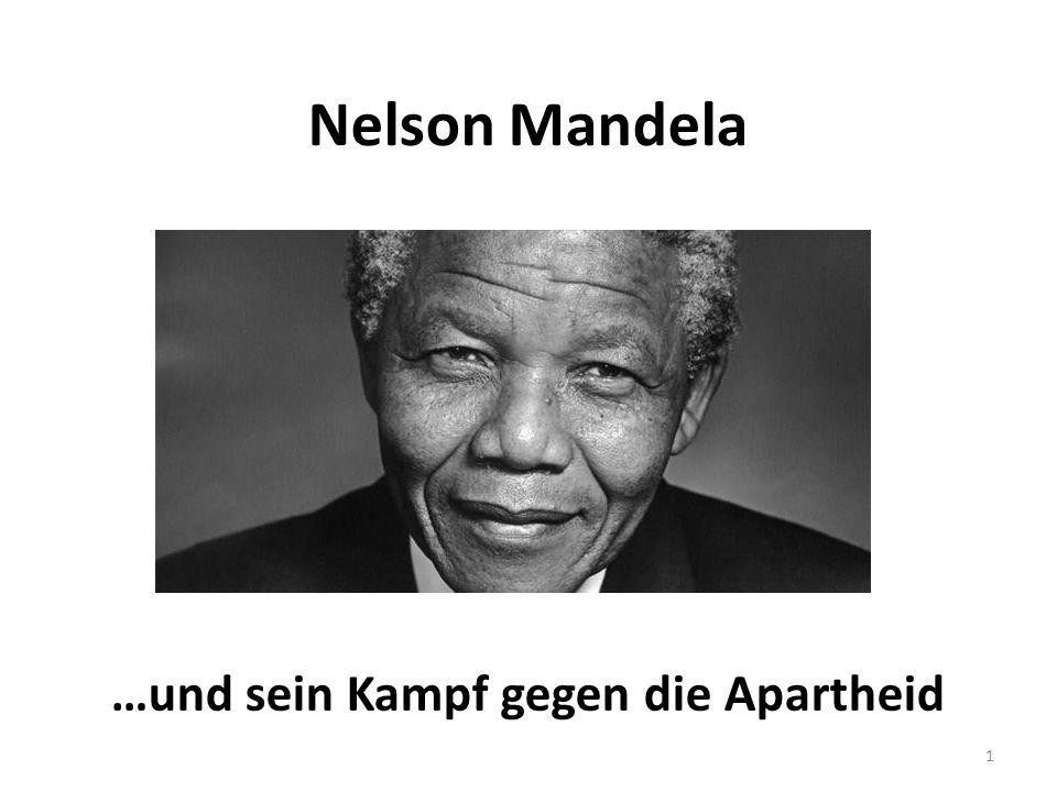 …und sein Kampf gegen die Apartheid