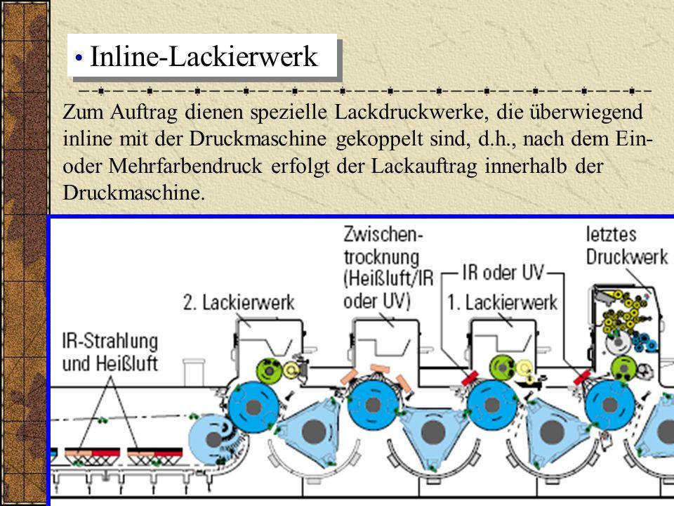 Inline-Lackierwerk