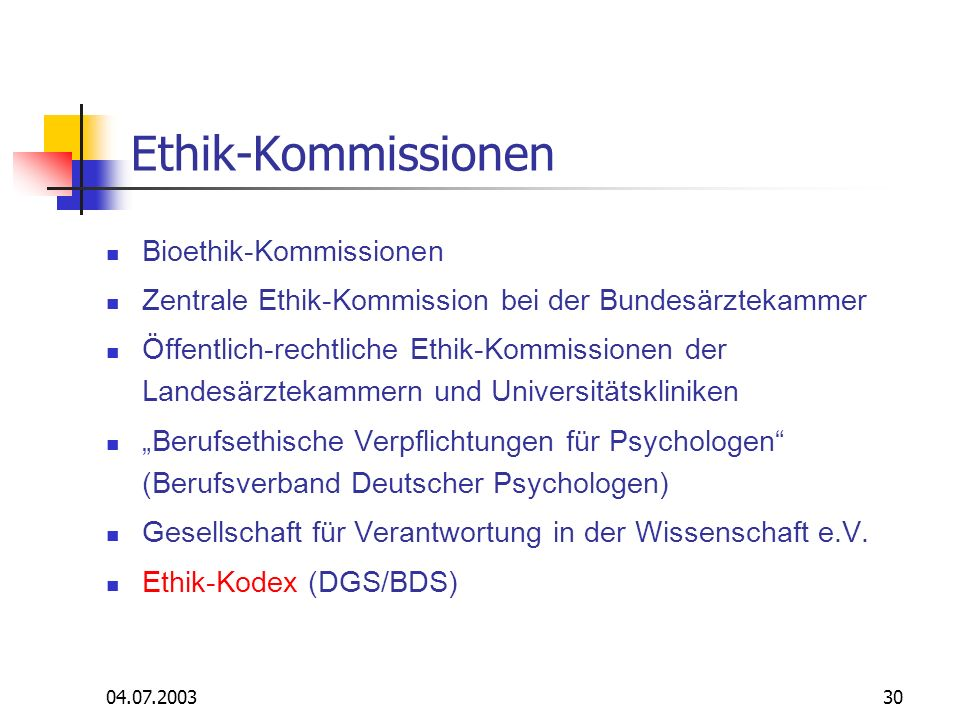 Ethik-Kommissionen Bioethik-Kommissionen