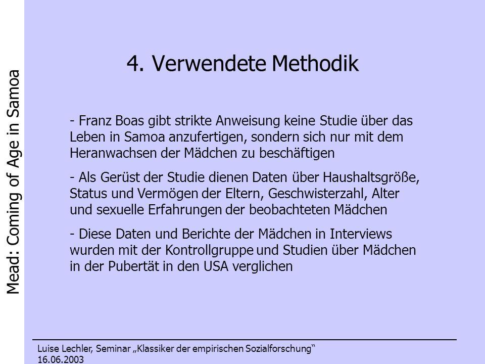 4. Verwendete Methodik