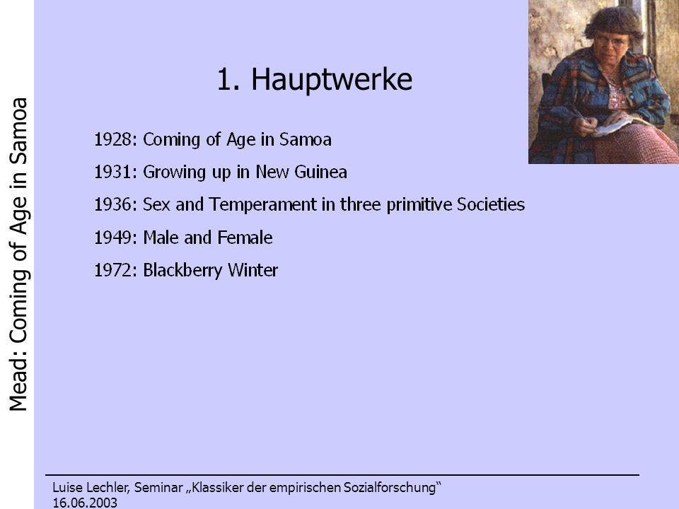 1. Hauptwerke Die bekanntesten Werke und auch wirkliche Besteller (für wissenschaftliche Sachbücher) waren: