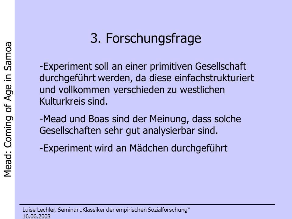 3. Forschungsfrage