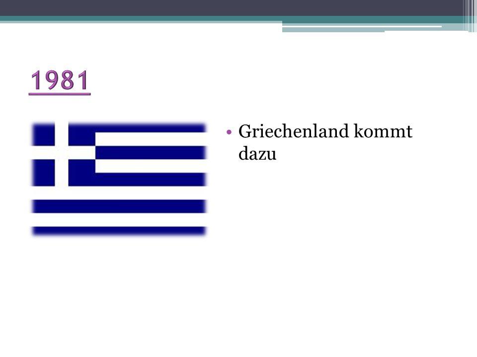 1981 Griechenland kommt dazu