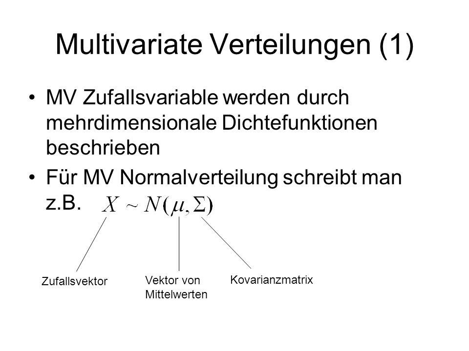 Multivariate Verteilungen (1)