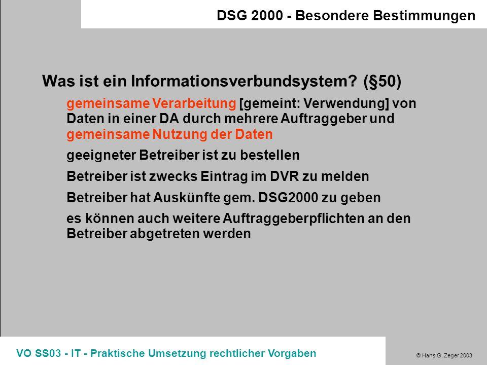 Was ist ein Informationsverbundsystem (§50)