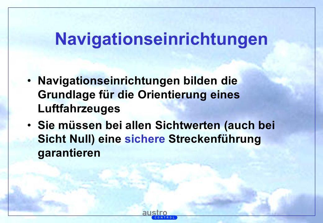 Navigationseinrichtungen