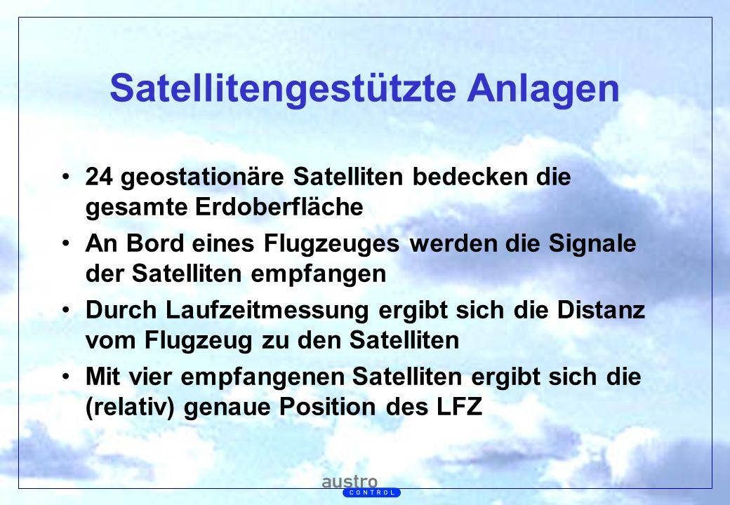 Satellitengestützte Anlagen