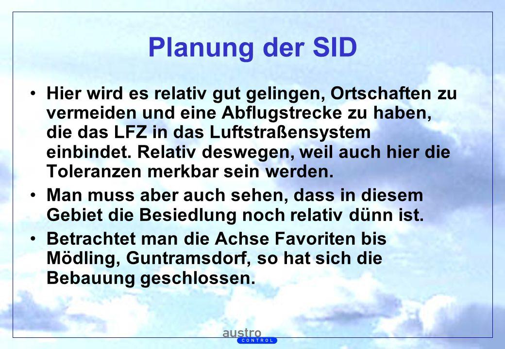 Planung der SID