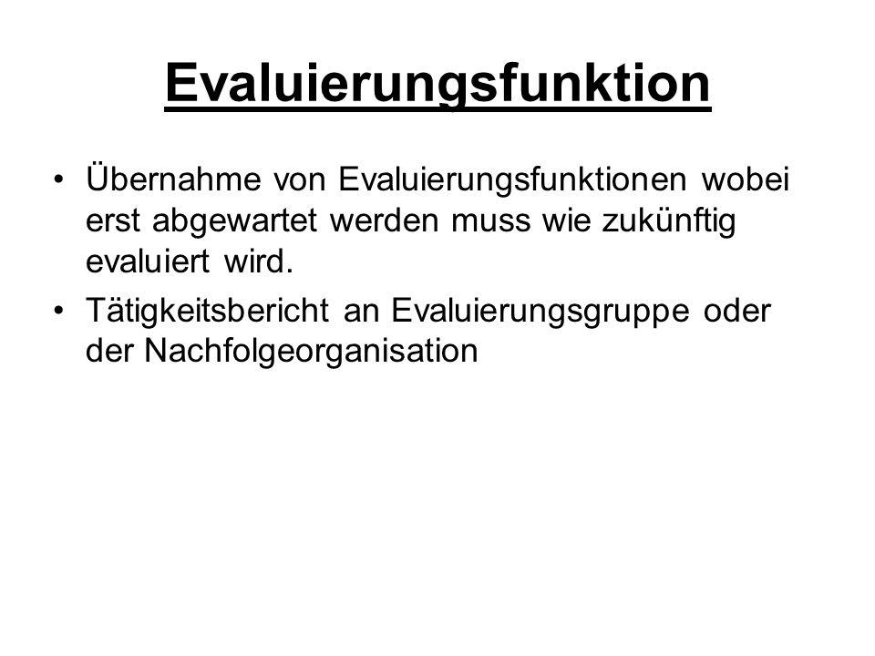 Evaluierungsfunktion