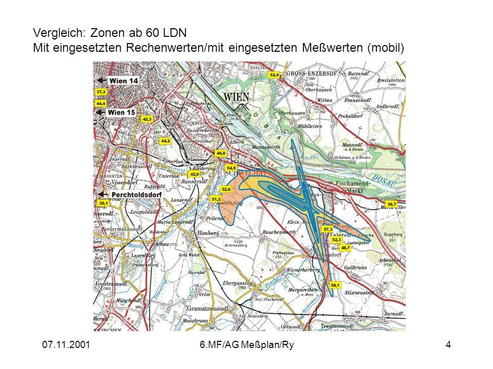 Vergleich: Zonen ab 60 LDN