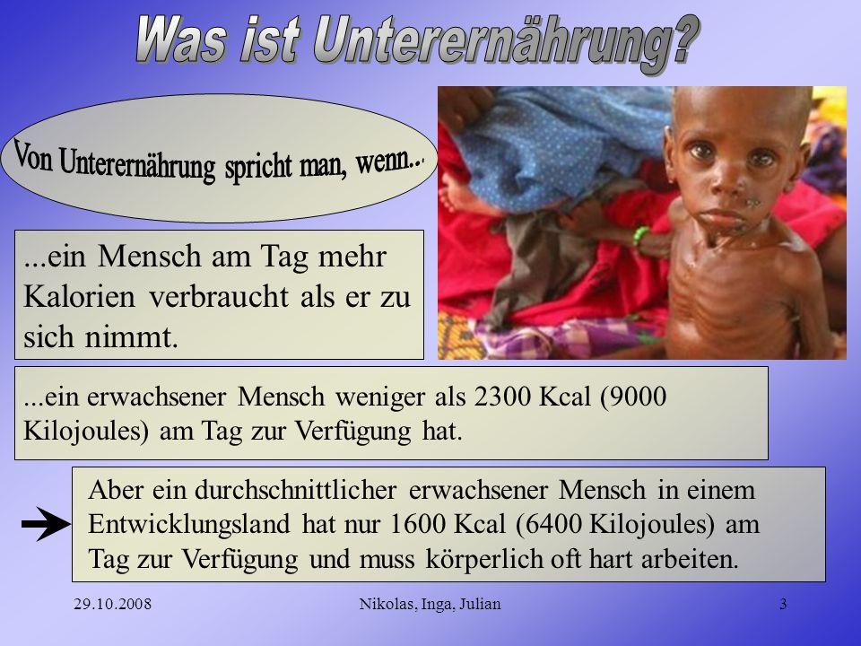 Was ist Unterernährung