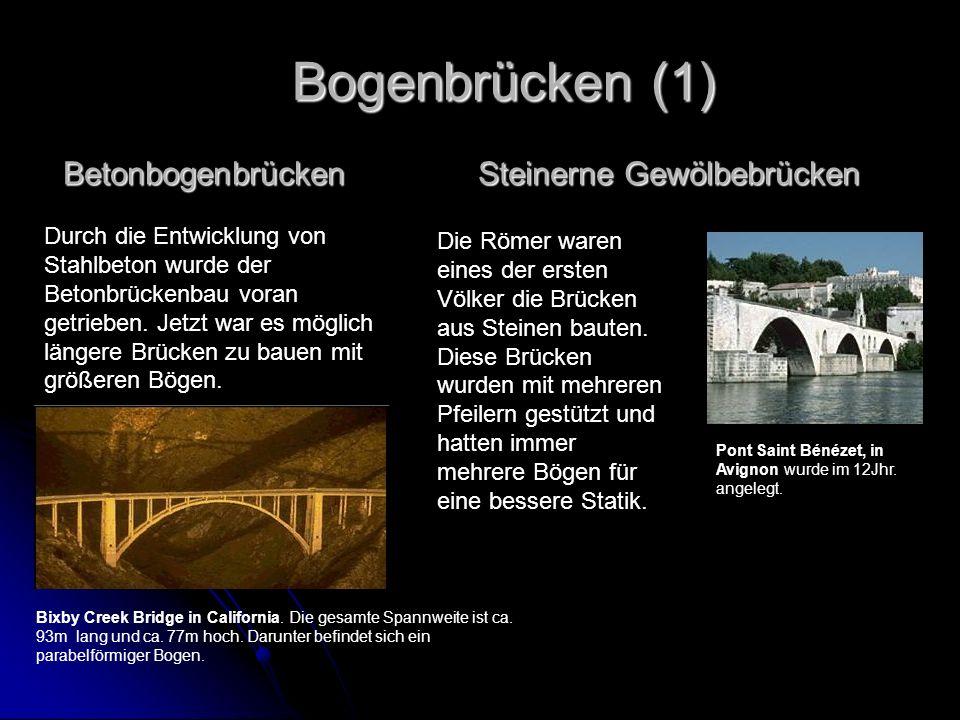 Steinerne Gewölbebrücken