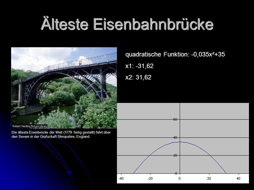 Älteste Eisenbahnbrücke