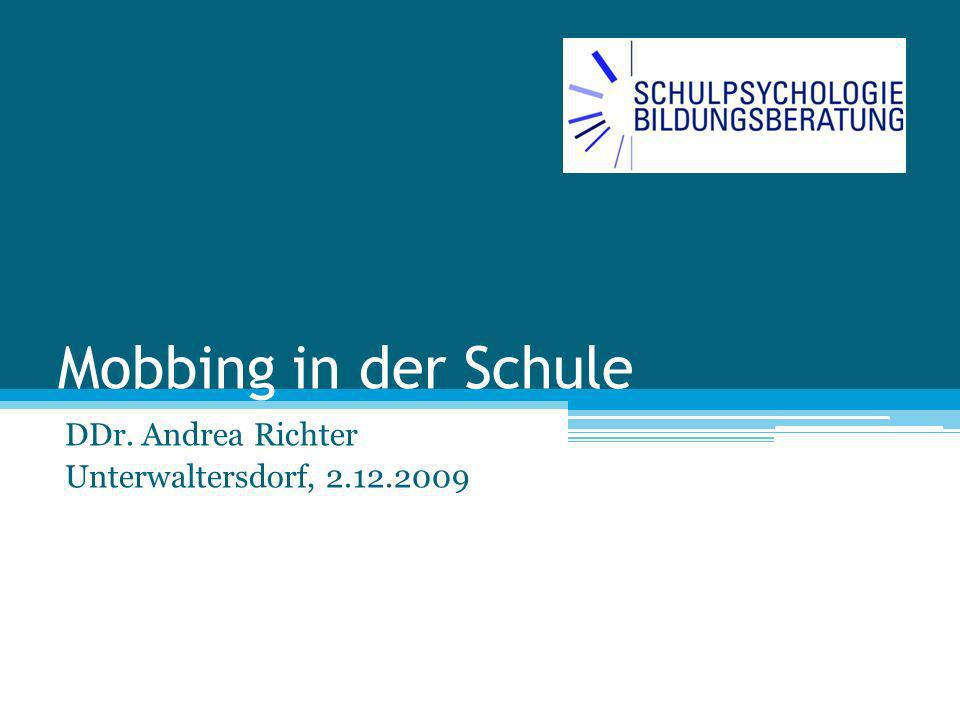 DDr. Andrea Richter Unterwaltersdorf, 2.12.2009
